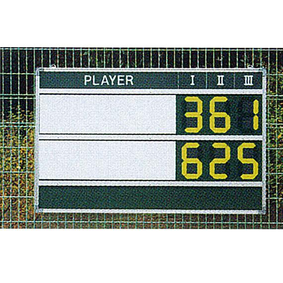 [ダンロップ テニス コート用品][送料お見積り]マグネットデジタルチップスコアボード(TC-514)