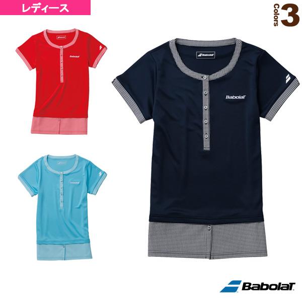 f2f007a865e57 [バボラ テニス・バドミントン ウェア(レディース)]ゲームシャツ/レディース(BAB