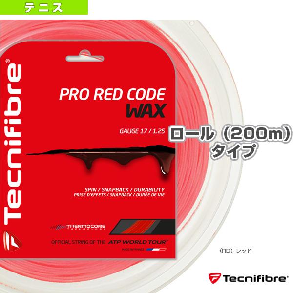 [テクニファイバー テニス ストリング(ロール他)]プロレッドコード ワックス/200mロール(TFR520/TFR521/TFR522)