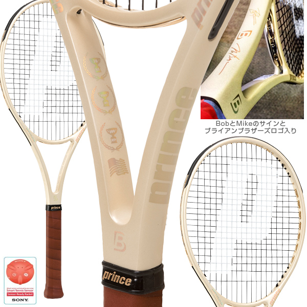 Prince Tennis And Other Bryanmodelracquet Racket Bag Limited Edition Set Brackets 7t44k Racquet Bags 6p873