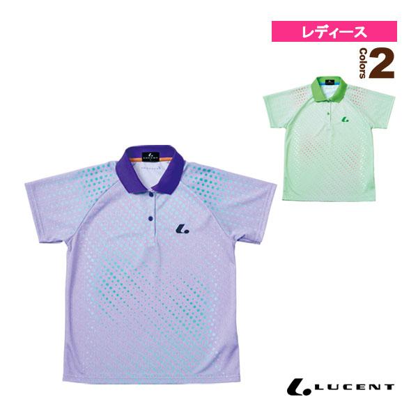 [ルーセント テニス・バドミントン ウェア(レディース)]ゲームシャツ/レディース(XLP-475)