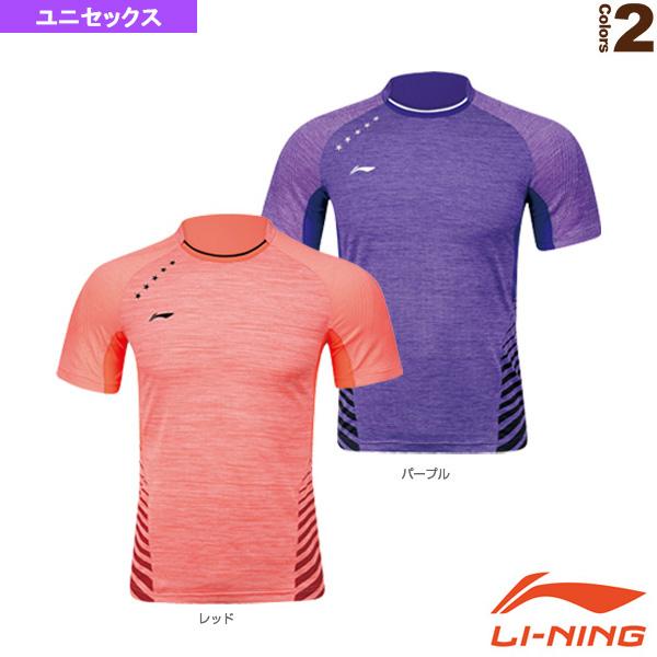 リーニン テニス バドミントン ウェア メンズ ユニセックス ゲームシャツ セール品 《週末限定タイムセール》 ユニ 中国ナショナルチーム AAYK219
