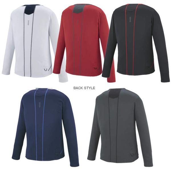 [Asic 服装 (男装 / UNI)] LS 顶部温暖 / 温暖长套筒顶部和男人 (XXR582)