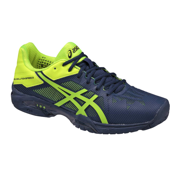 [Asic 网球鞋] 2/2017年早期凝胶溶液速度 3 / 3 / 男装凝胶溶液速度 (TLL766)。