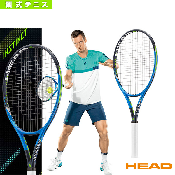 [ヘッド テニス ラケット]INSTINCT ADAPTIVE/インスティンクト アダプティブ/チューニングキット付(231917)