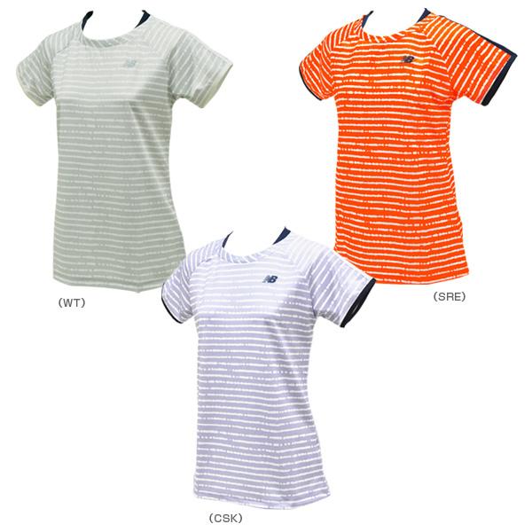 0ce293963061 [ニューバランス テニス・バドミントン ウェア(レディース)]レイヤード風ゲームシャツ/レディース