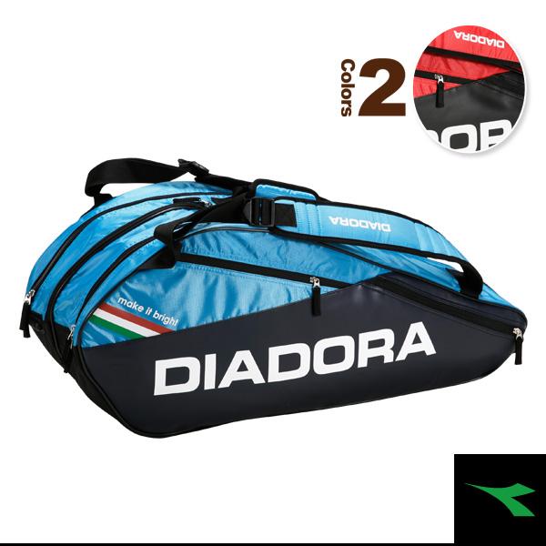 [ディアドラ テニス バッグ]ラケットバッグ6/ラケット6本収納可(DTB7633)