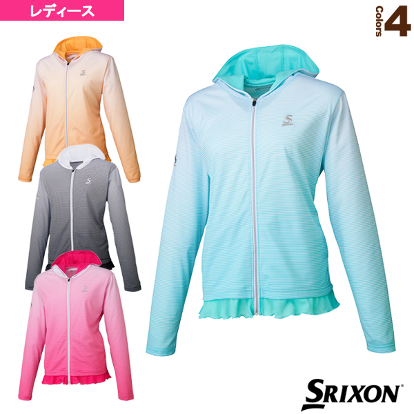 [スリクソン テニス・バドミントン ウェア(レディース)]ライトジャケット/レディース(SDF-5720W)