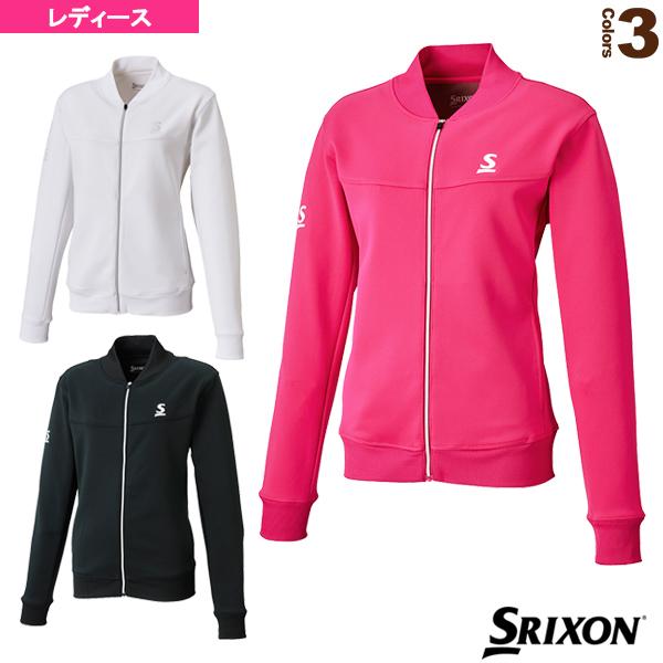 [スリクソン テニス・バドミントン ウェア(レディース)]フリースジャケット/レディース(SDF-5722W)テニスウェア女性用