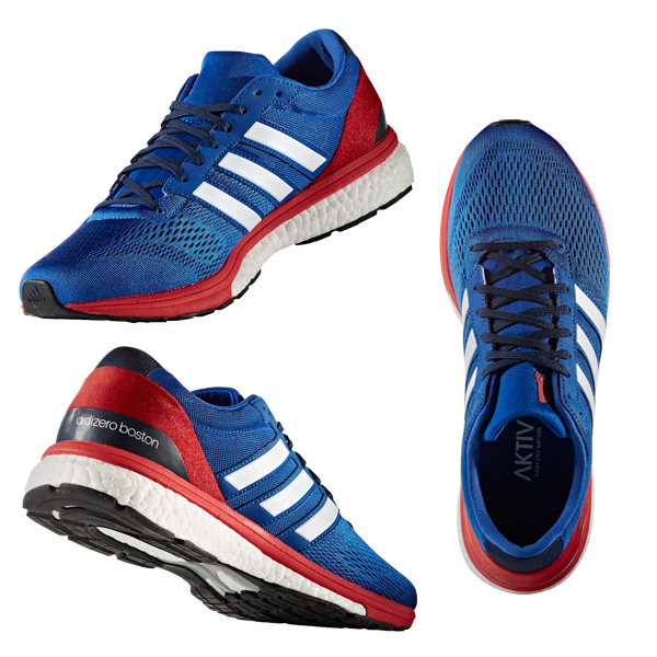 [Adidas running shoes] adiZERO boston BOOST 2/ unisex (BA7994)