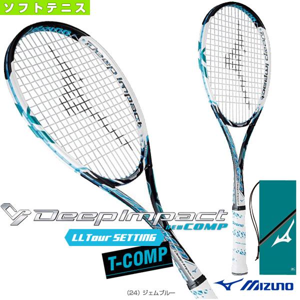 [ミズノ ソフトテニス ラケット]ディープインパクト Tコンプ/Deep Impact T-COMP(63JTN552)