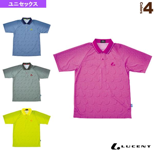 [ルーセント テニス・バドミントン ウェア(メンズ/ユニ)]ゲームシャツ/ユニセックス(XLP-822)