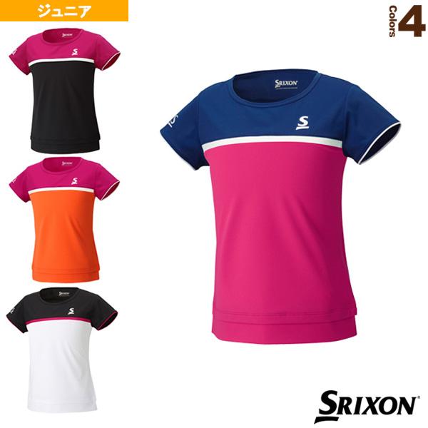 [スリクソン テニス ジュニアグッズ]ゲームシャツ/ガールズ(SDP-1760WJ)子供用