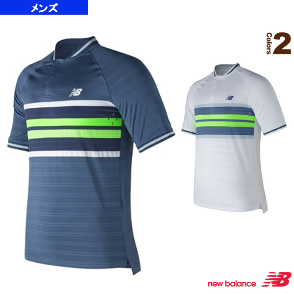 super cute 0c116 92dbd [New Balance tennis badminton wear (men's / uni-)] tournament Henry game  shirt / men (MT73407)