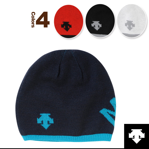 90be4ccebe [Descente oar sports accessories, accessory] a reversible knit cap  (DAC-8760)