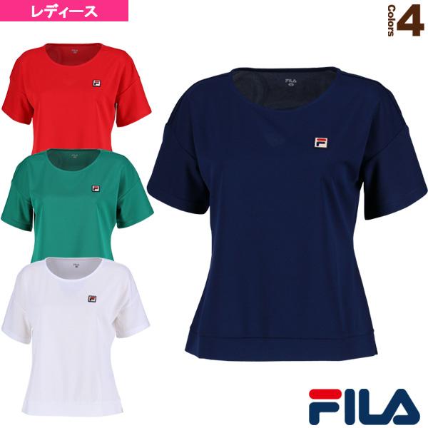 [필러 테니스・배드민턴 웨어(레이디스)]게임 셔츠/레이디스(VL1686)