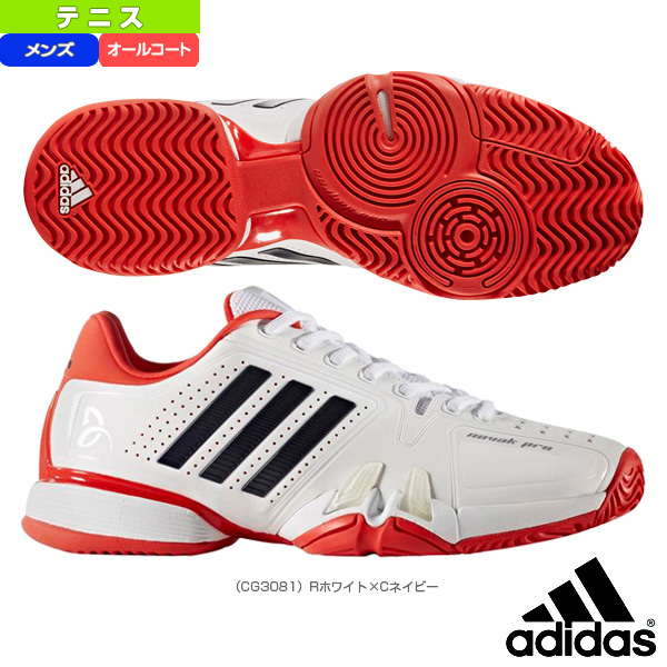 950ddd9df2a4 Racketplaza   Adidas tennis shoes  novak pro AC  men (CG3081 ...