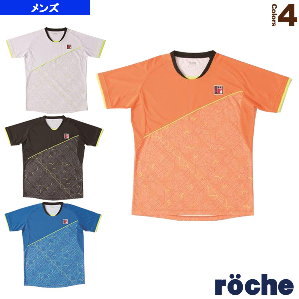 [ローチェ(roche) テニス・バドミントン ウェア(メンズ/ユニ)]ゲームシャツ/メンズ(R7A02V)