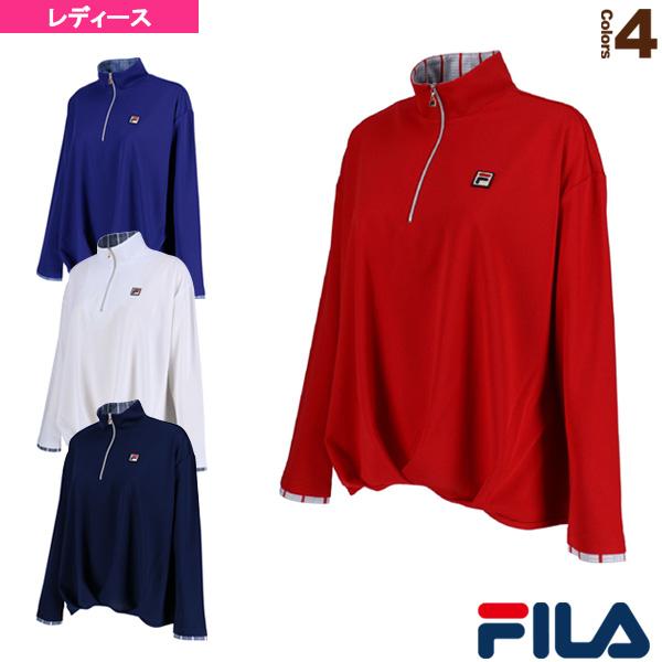 フィラ テニス バドミントン ウェア 長袖ジップシャツ 超定番 レディース VL1683 有名な