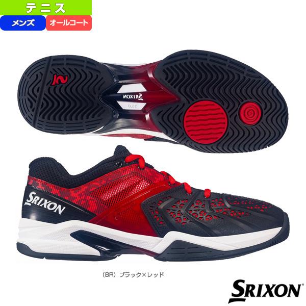 [スリクソン テニス シューズ]PROSPIDER α GRIP2 ALL COURT/プロスパイダー アルファグリップ2 オールコート/メンズ(SRS-370M)
