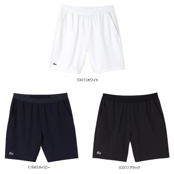 6b4ffd91 [Lacoste tennis badminton wear (men's / uni-)] stretch taffeta tennis  shorts / men (GH8107)