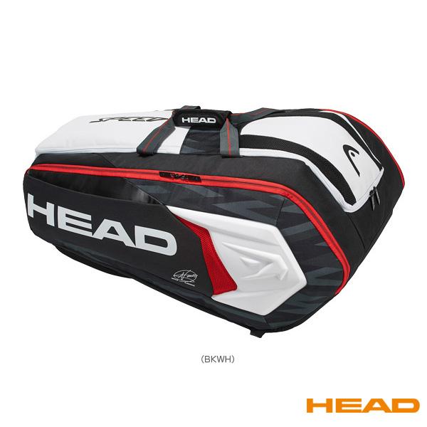 [ヘッド テニス バッグ]Djokovic 12R Monstercombi/ジョコビッチ モンスターコンビ 12本入れ(283008)ラケットバッグ
