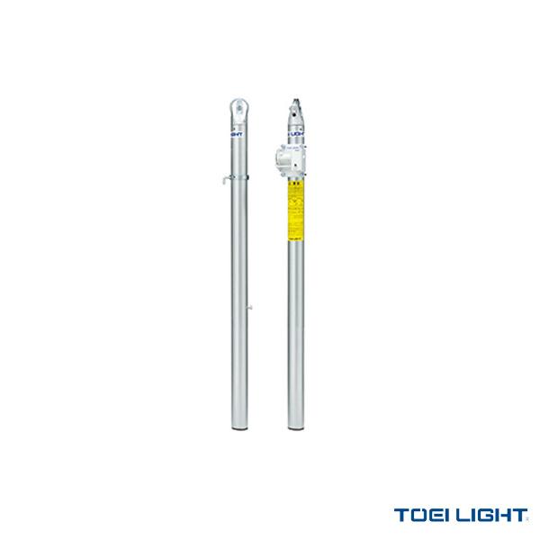 [TOEI(トーエイ) テニス コート用品][送料別途]アルミテニス支柱/体育館用/2本1組(B-2479)