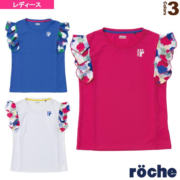 [ローチェ(roche) テニス・バドミントン ウェア(レディース)]ゲームシャツ/レディース(R8S32V)