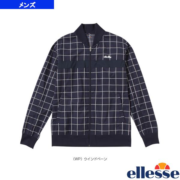[エレッセ テニス・バドミントン ウェア(メンズ/ユニ)]ダブルクロスフーディー スタジアムジャケット(P)/Double Cloth Studium Jacket/メンズ(EM58104P)
