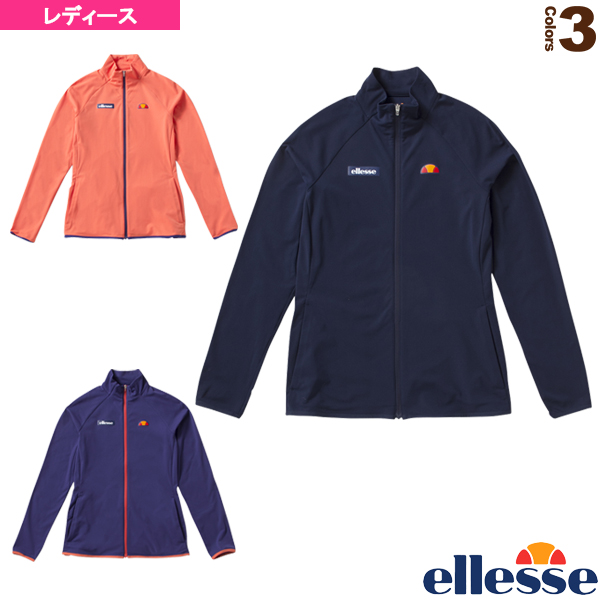 [エレッセ テニス・バドミントン ウェア(レディース)]ツアートリコットジャケット/Tour Tricot Jacket/レディース(EW58101)