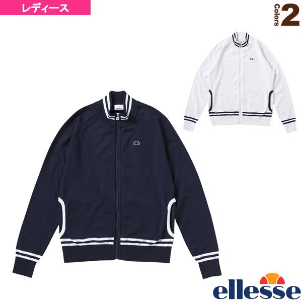 [エレッセ テニス・バドミントン ウェア(レディース)]クラブニットジャケット/Club Knit Jacket/レディース(EW78101)