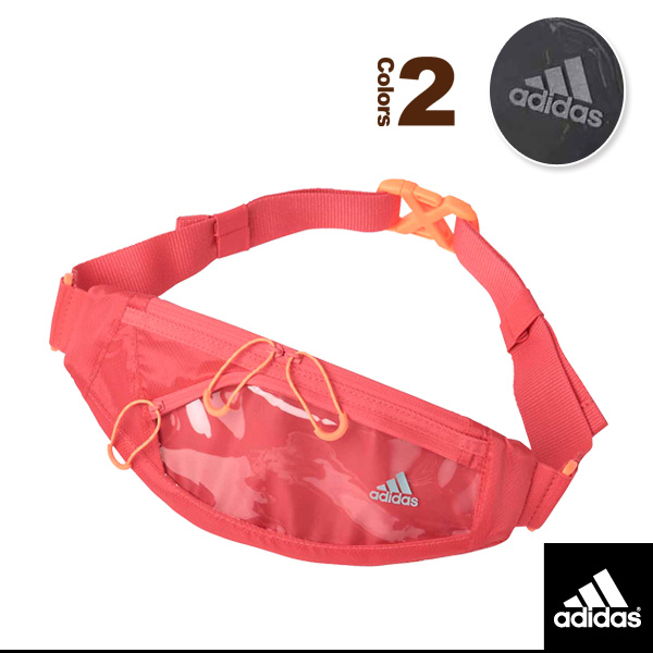 02ff9f2826 Racketplaza   Adidas running bag  a running waist porch (ECX54 ...