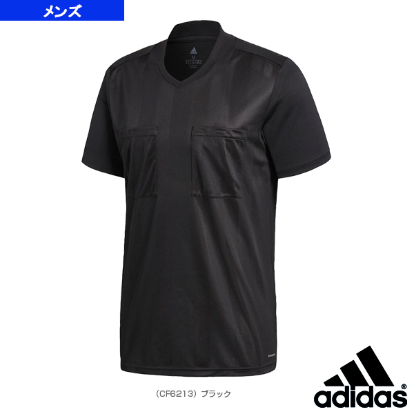 f8ba2ff67  Adidas soccer wear (men s   uni-)  2018 referee jersey short sleeves ...