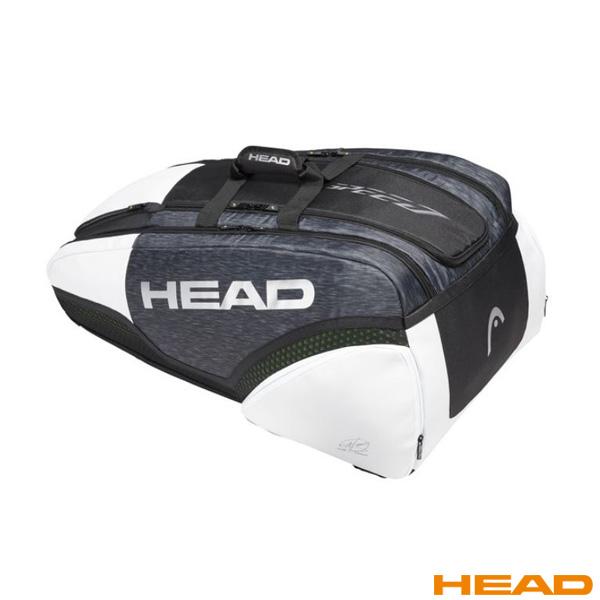 [ヘッド テニス バッグ]Djokovic 12R Monstercombi/ジョコビッチ 12R モンスターコンビ(283009)ラケットバッグ12本入