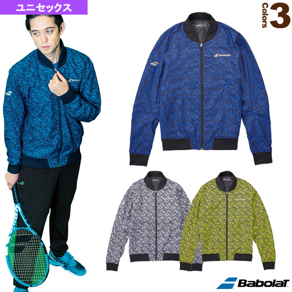 [バボラ テニス・バドミントン ウェア(メンズ/ユニ)]ヒートナビMA-1ジャケット/フラッグシップライン/ユニセックス(BTUMJK02)