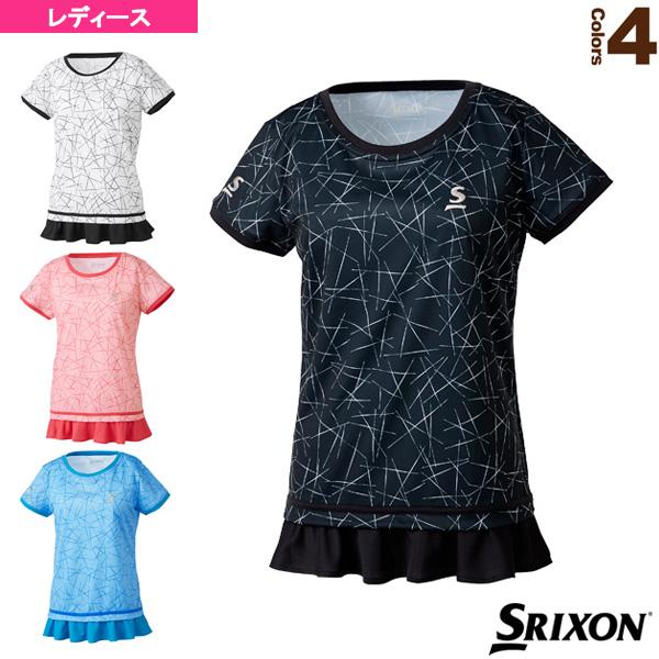 [スリクソン テニス・バドミントン ウェア(レディース)]ゲームシャツ/ツアーライン/レディース(SDP-1862W)テニスウェア女性用