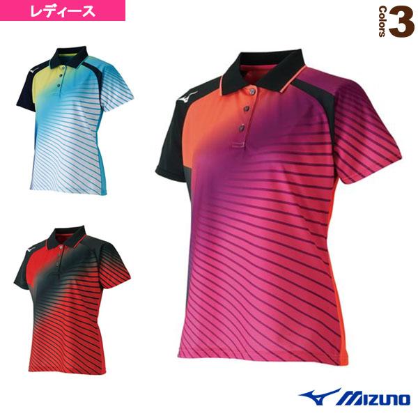 [ミズノ テニス・バドミントン ウェア(レディース)]ゲームシャツ/レディース(62JA8706)バドミントンウェア女性用