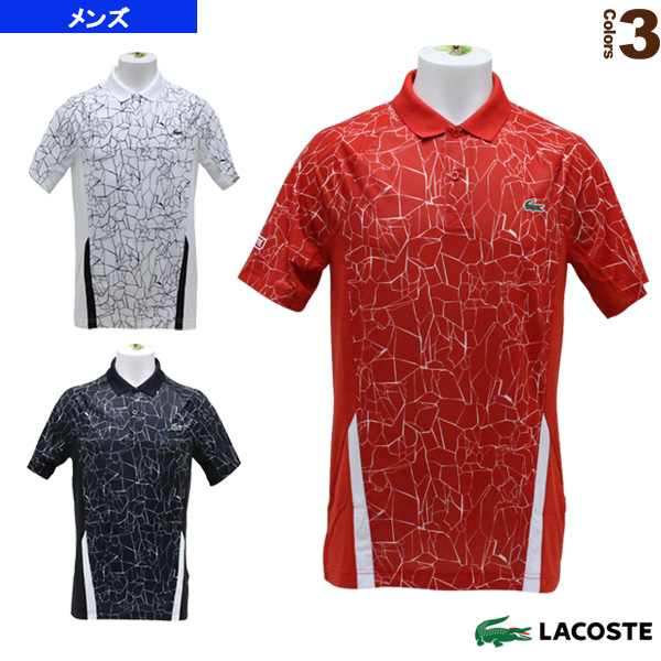 new product 37cb9 17555 [Lacoste tennis badminton wear (men's / uni-)] NOVAK DJOKOVIC/POLOS/ polo  shirt / men (DH9466L)