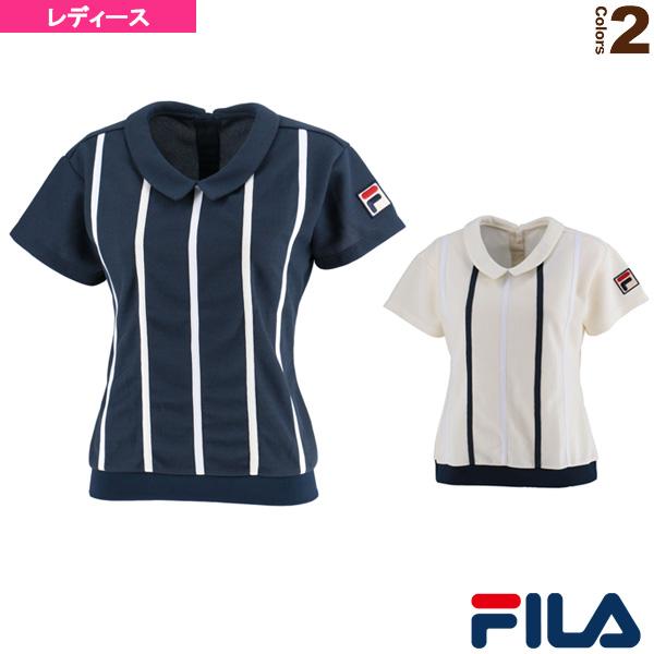 [フィラ テニス・バドミントン ウェア(レディース)]ゲームシャツ/レディース(VL1844)