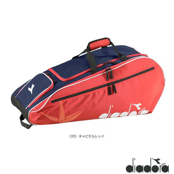 エントリーでポイント5倍 ディアドラ テニス ラケットバッグ6 バッグ メーカー公式ショップ 新品■送料無料■ DTB8680