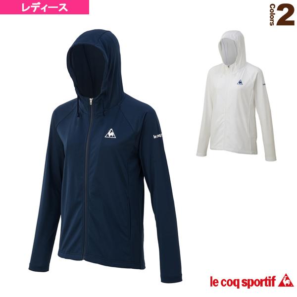 [ルコック テニス・バドミントン ウェア(レディース)]シャツジャケット/SHIRT JACKET/レディース(QTWMJC62)