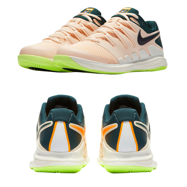 newest ff8c0 7e2a9 □Product details information. Specifications and characteristic, The Nike  air zoom vapor X HC women tennis shoes are equipped with NikeCourt ...