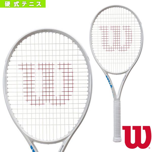 [ウィルソン テニス ラケット]ULTRA 100CV WHITE in WHITE/ウルトラ 100CV ホワイトインホワイト(WR011011)硬式