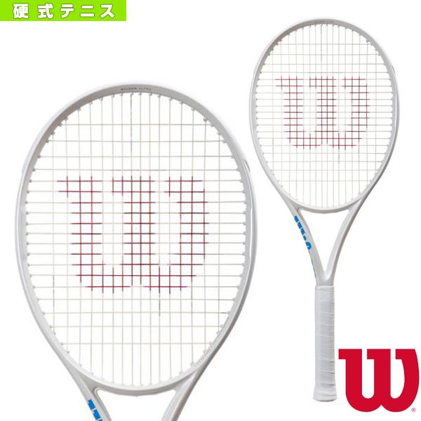[ウィルソン テニス ラケット]ULTRA 100L WHITE in WHITE/ウルトラ 100L ホワイトインホワイト(WR011111)硬式