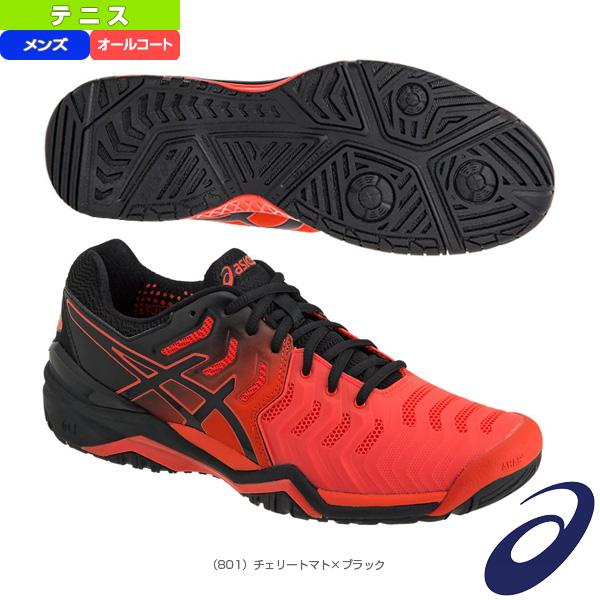 [アシックス テニス シューズ]GEL-RESOLUTION 7/ゲルレゾリューション 7/メンズ(TLL784)オールコート用