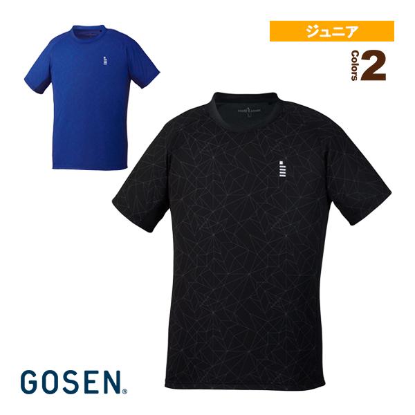 [ゴーセン テニス ジュニアグッズ]ゲームシャツ/ジュニア(T1904)