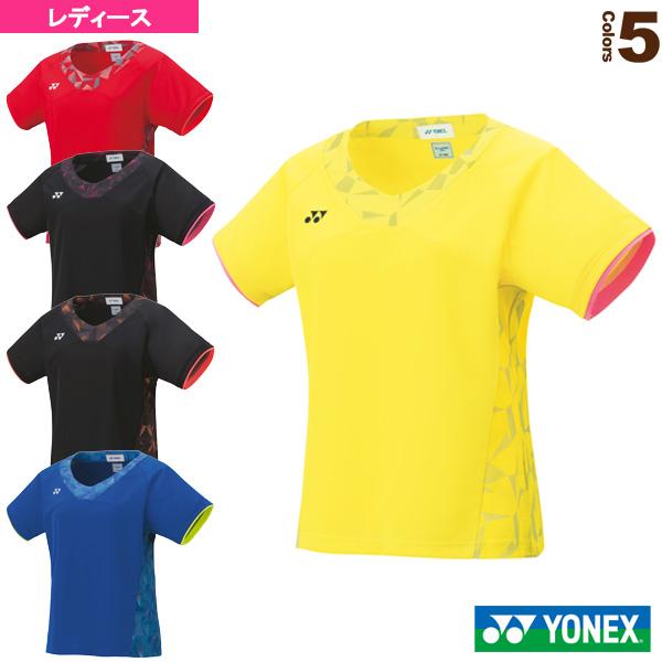 [ヨネックス テニス・バドミントン ウェア(レディース)]ゲームシャツ/スリムタイプ/レディース(20481)