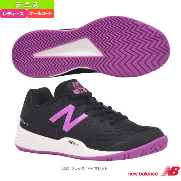 a91b3e2e72e4b ニューバランス テニス シューズ WCH896V2 D 標準 オールコート用 ...