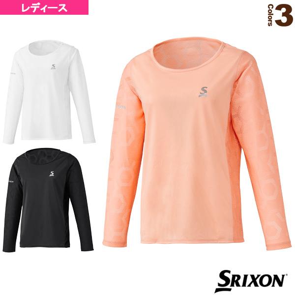 [スリクソン テニス・バドミントン ウェア(レディース)]メッシュジャケット/ツアーライン/レディース(SDF-5921W)