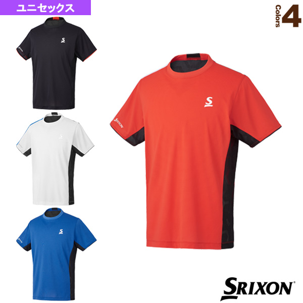 [スリクソン テニス・バドミントン ウェア(メンズ/ユニ)]ゲームシャツ/ツアーライン/ユニセックス(SDP-1900)